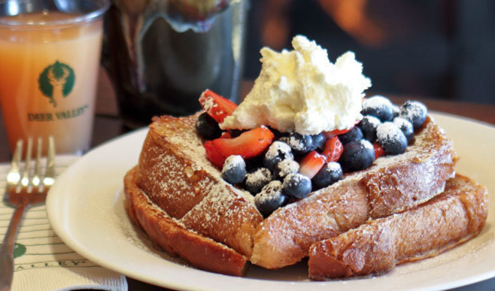 French Toast at the Snow Park, Deer Valley