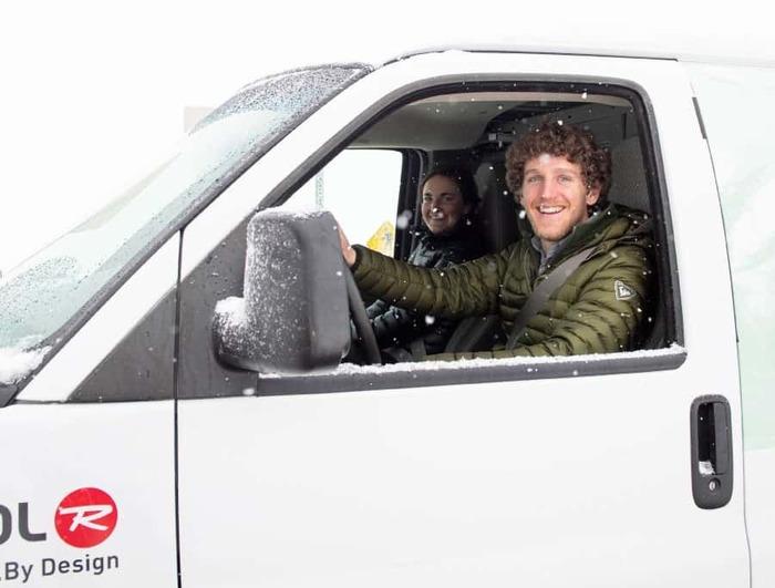 Ski Butlers Delivery Van