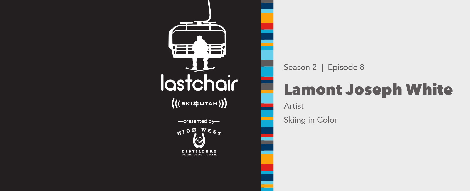 Lamont Joseph White: Skiing in Color