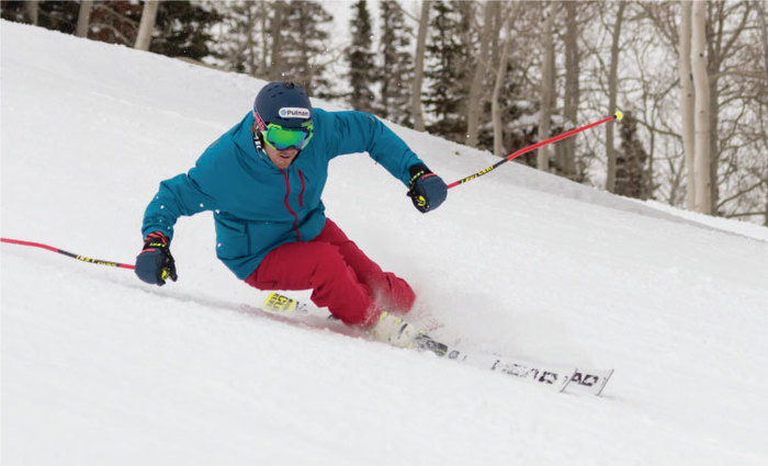 Ted Ligety arcing turns
