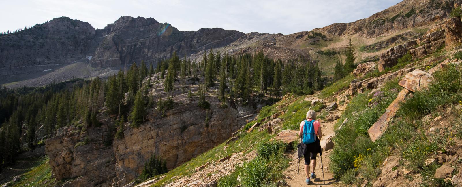 Family Backpacking Getaways Near Salt Lake City