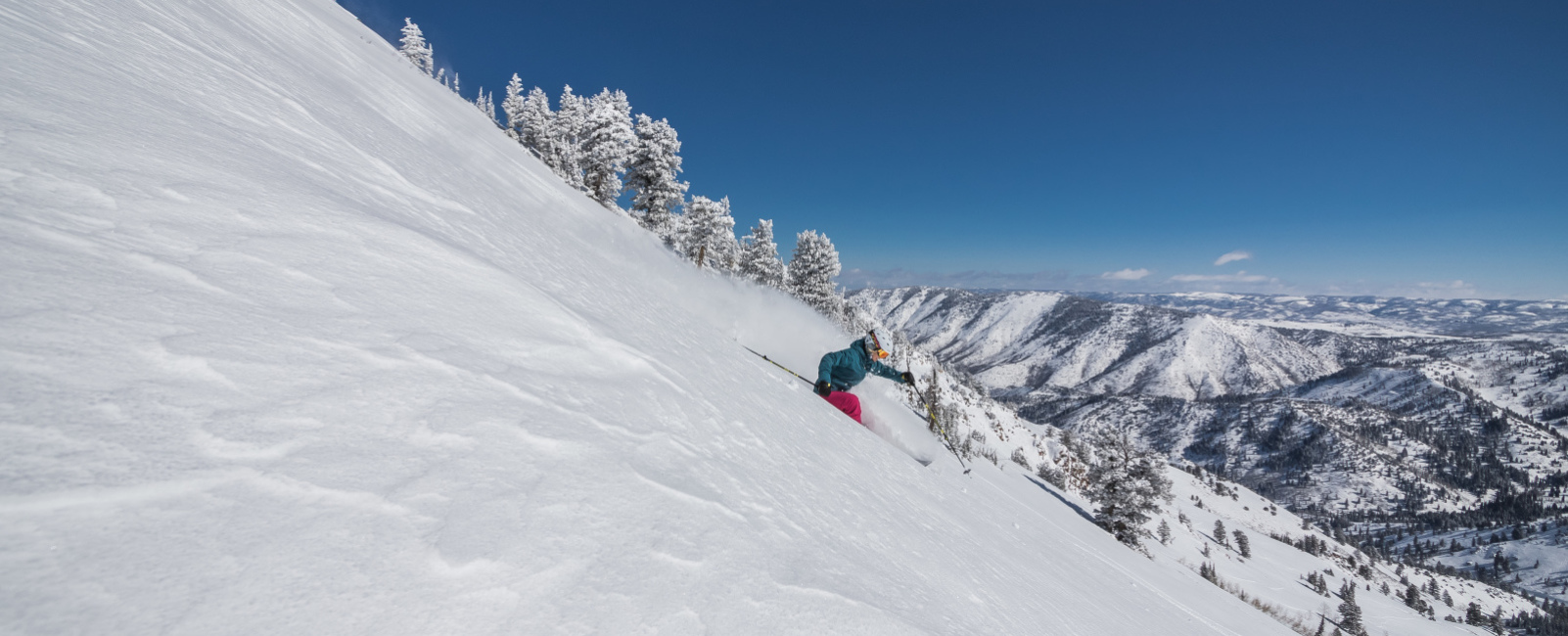 Socially Distant Skiing? Powder Mountain's Had That For Years.