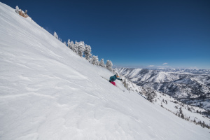 Socially Distant Skiing? Powder Mountain's Had That For Years.  thumbnail