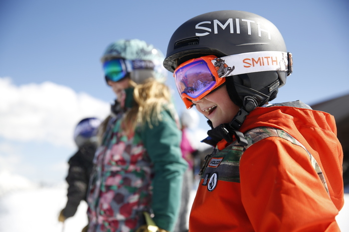 Tag Team Parenting and Skiing