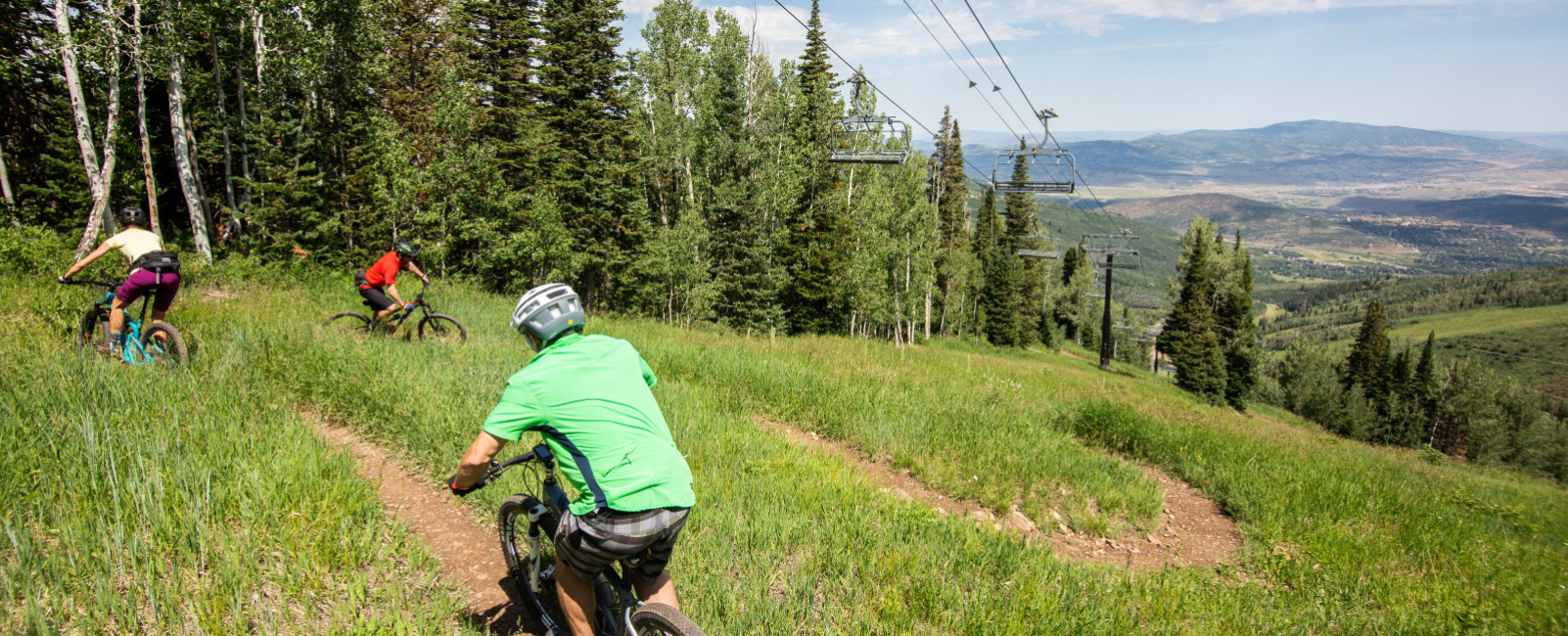 Go With the Flow: Lift-Served Mountain Bike Flow Trails at Utah Resorts