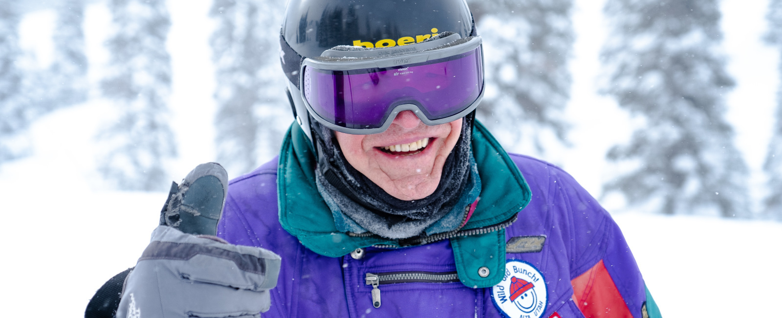 101-Year-Old Skier - George Jedenoff