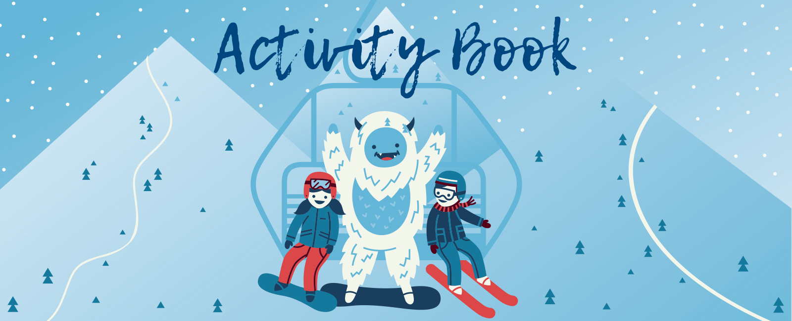 15 Resort Ski Activity Booklet