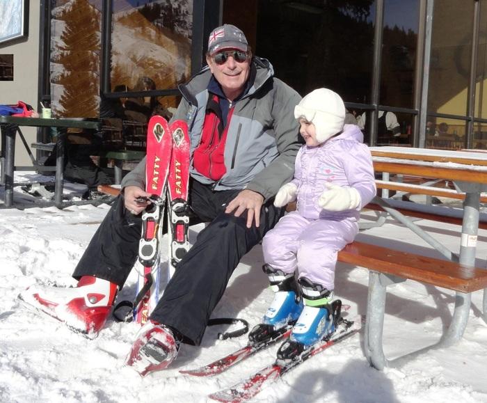 Larry Green and granddaughter 1jpg
