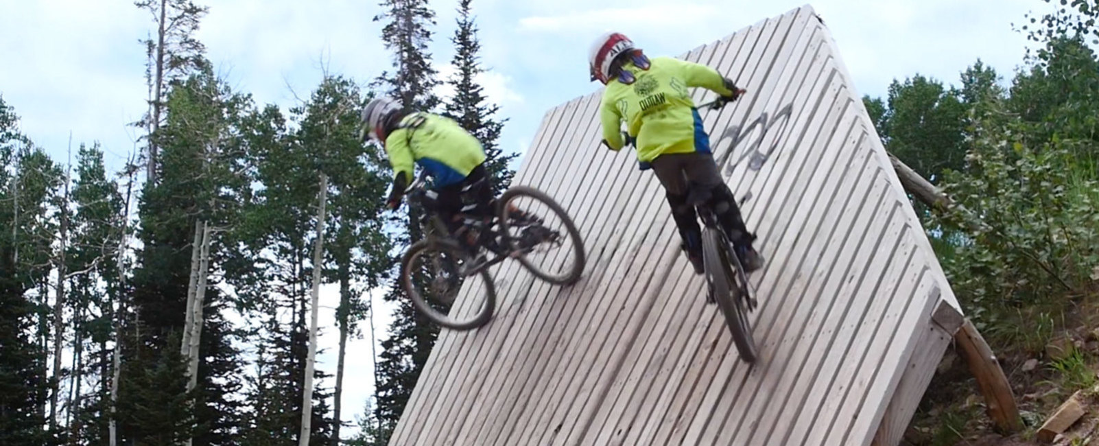 9-Year-Old Twins Mountain Bike Park City Mountain