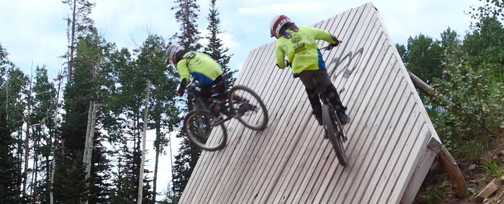 9-Year-Old Twins Mountain Bike Park City Mountain