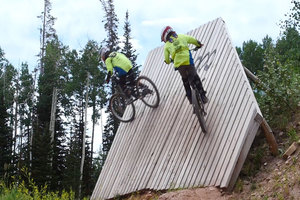 9-Year-Old Twins Mountain Bike Park City Mountain thumbnail