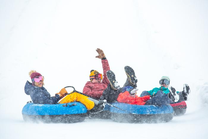 A Guide to Snow Tubing & Sledding in Utah