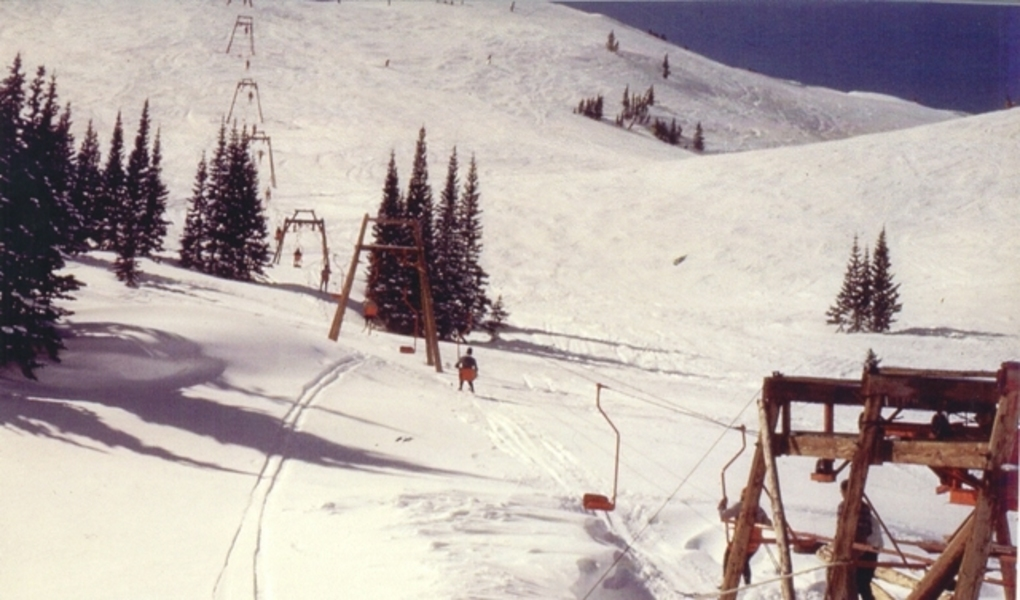 The Peruvian J-bar chairlift