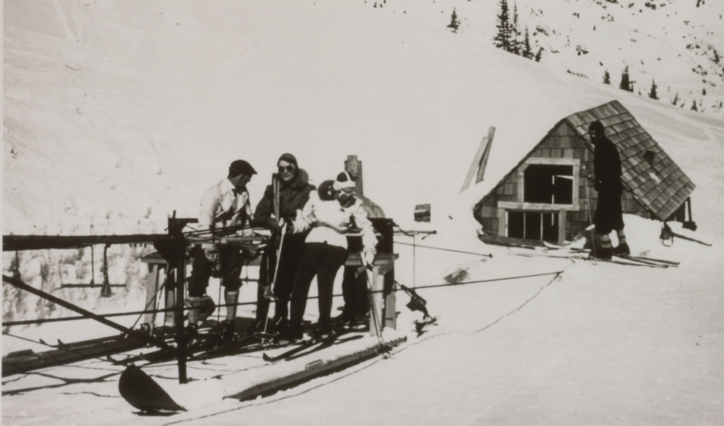 Top terminal of the Collins lift