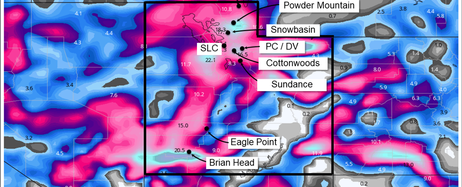 Big Thanksgiving Storm to Deliver FEET of Snow
