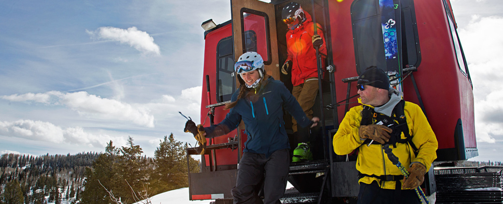Snowcat Skiing And Skiing With Cats