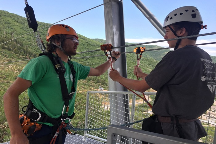 Come Fly With Me: Zip Line at Utah Olympic Park