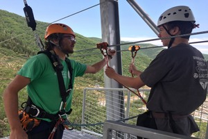 Come Fly With Me: Zip Line at Utah Olympic Park thumbnail
