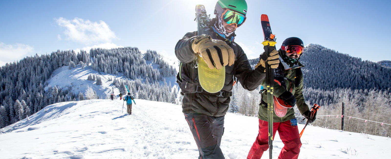 Connecting Utah's Central Resorts On Skis