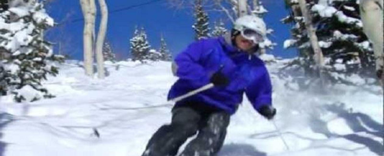 Deer Valley Powder Skiing