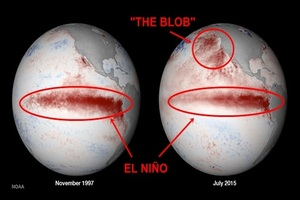 El Niño vs. The Blob - Utah's 2015-16 Winter Forecast thumbnail