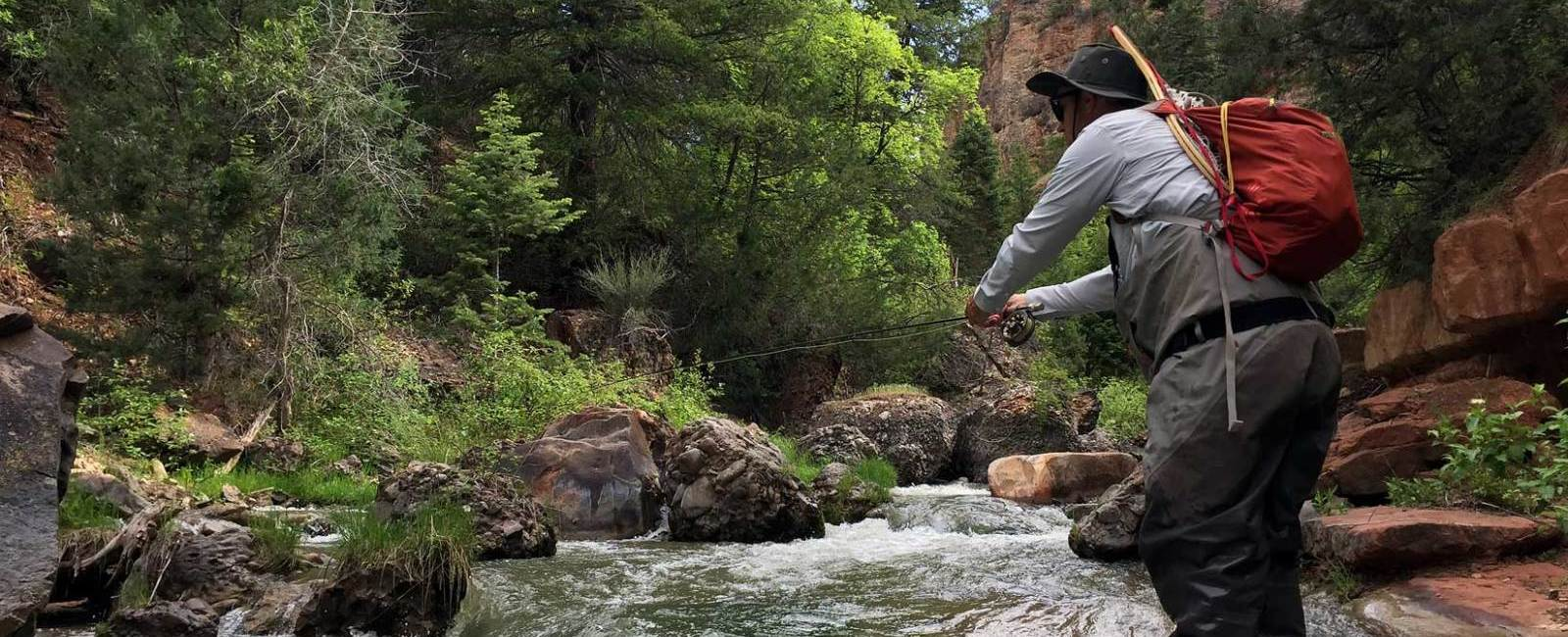 Every Skiers' Summer Dream. Catching Trophy Fish