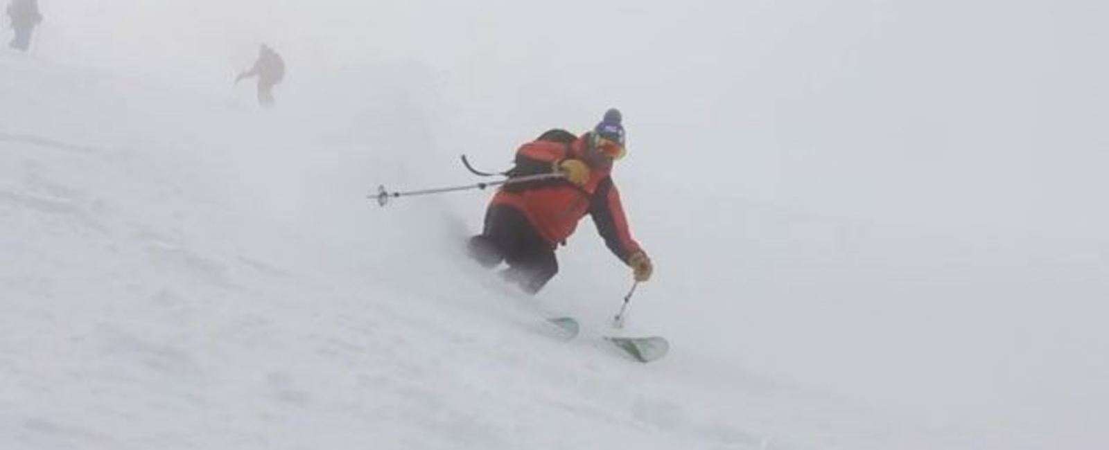 Powder Skiing on Halloween 2013