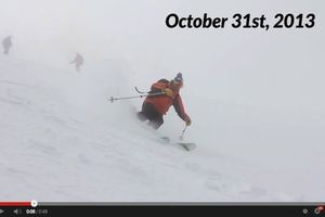 Powder Skiing on Halloween 2013 thumbnail