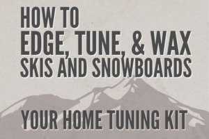 How to Edge, Tune, and Wax Skis and Snowboards thumbnail