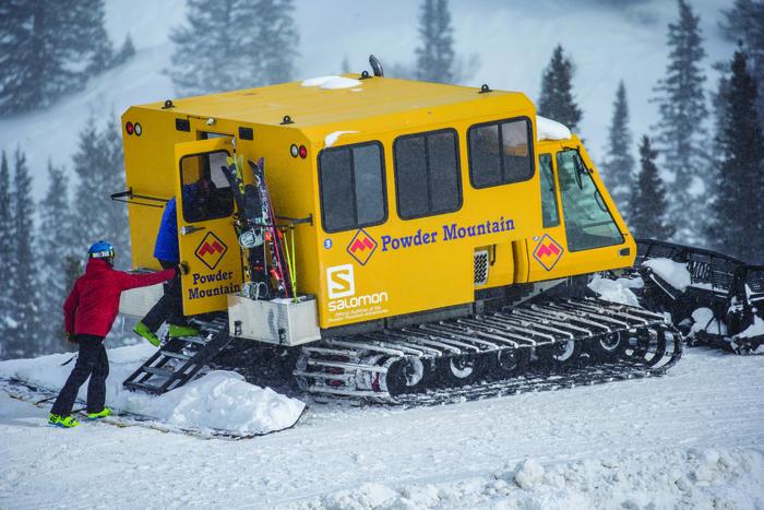 Powder Mountain Snow Cat
