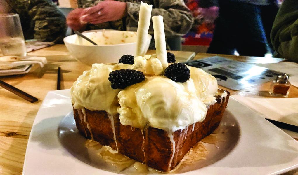 Honey Toast at Ramen Haus