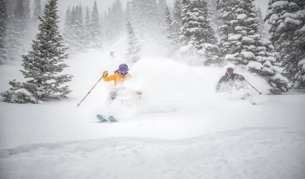 Powder Skiing at Snowbird