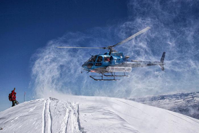 Powderbid Helicopter