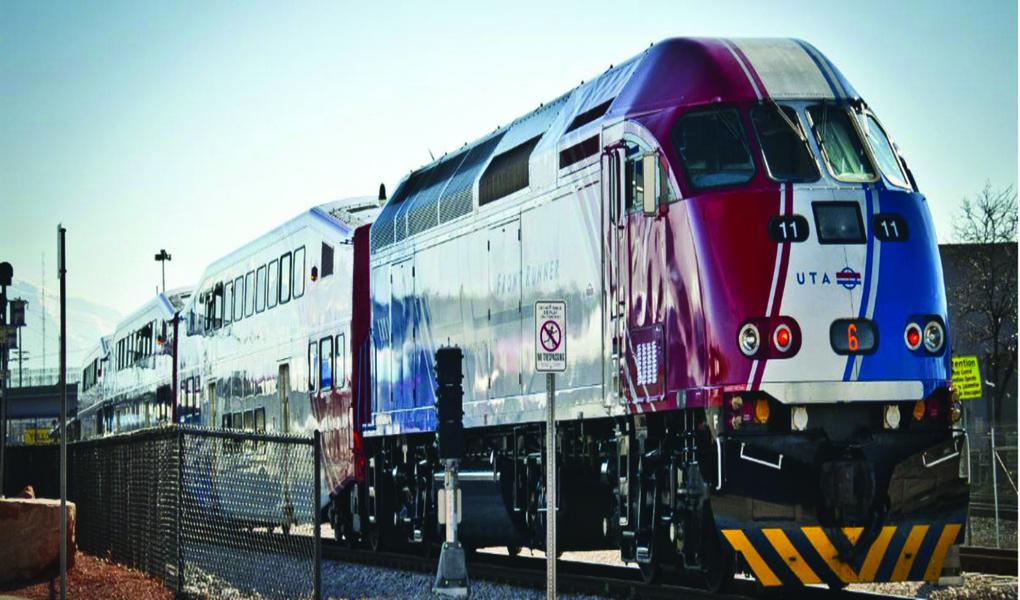 UTA Front Runner Train
