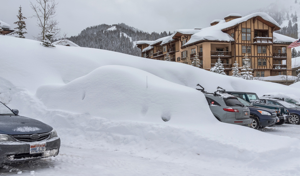 Buried Ford F-150