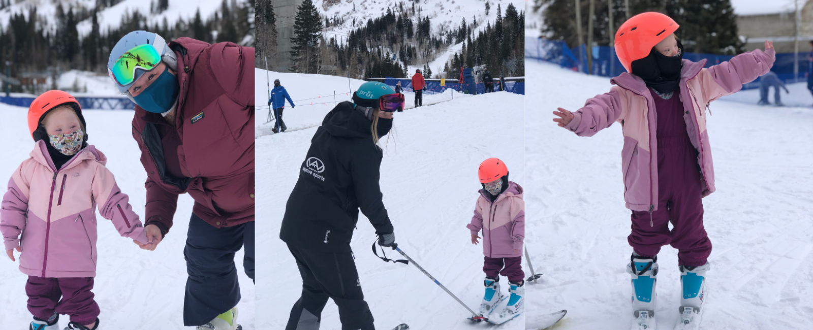Learning to Ski as a Family