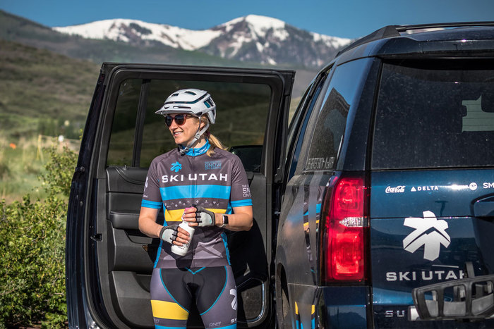 Womens Ski Utah Cycling Kit