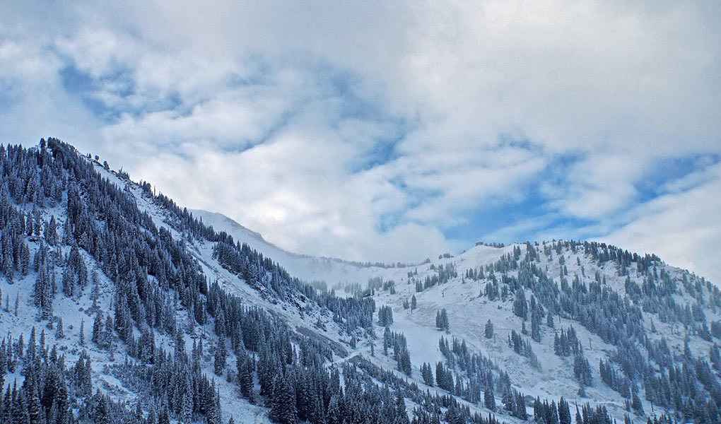 Early Snow On Alta's Fabled Slopes