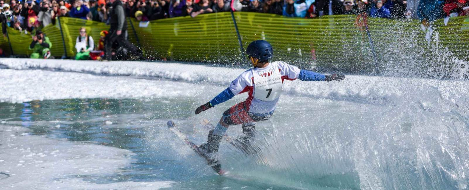 Pond Skimming: Slippery When Wet