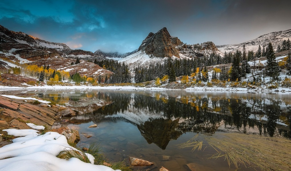 Lake Blanche Sunset