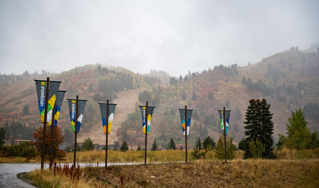 Snowbasin's Flags