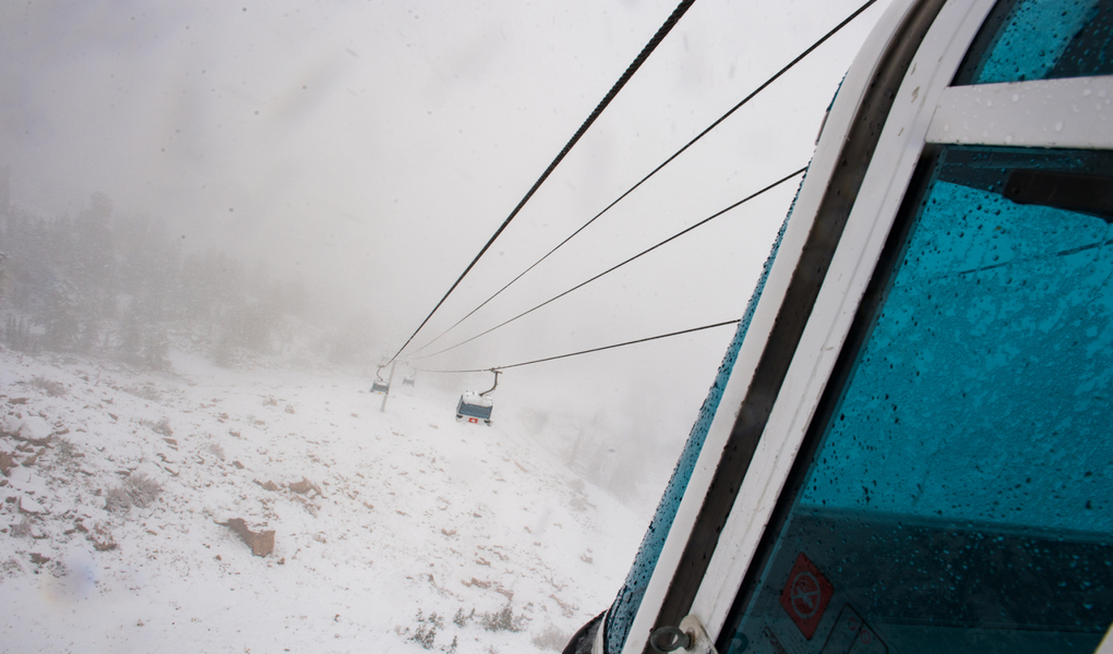 Chilly Gondola View