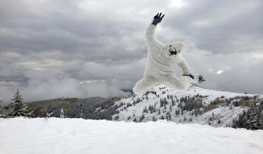 Sept 23rd Snow Yeti Leap