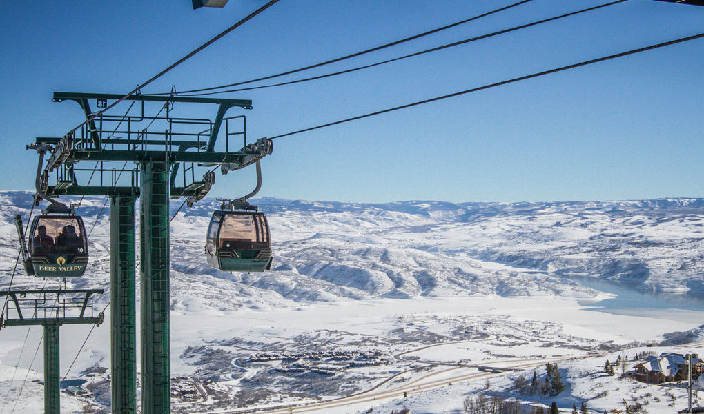 Jordanelle Express Gondola, Deer Valley