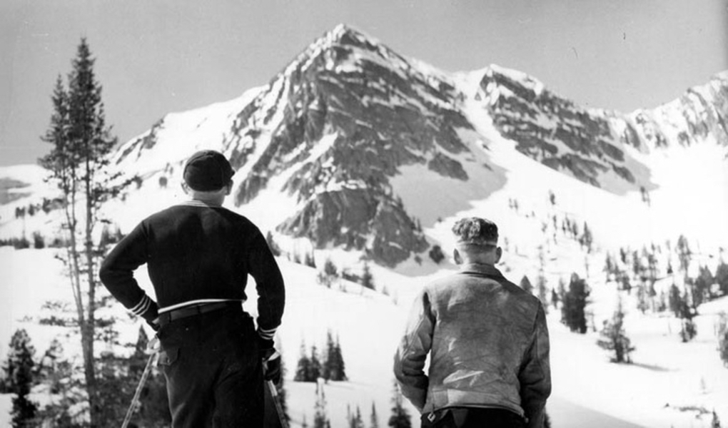 Snowbasin in the 1930s