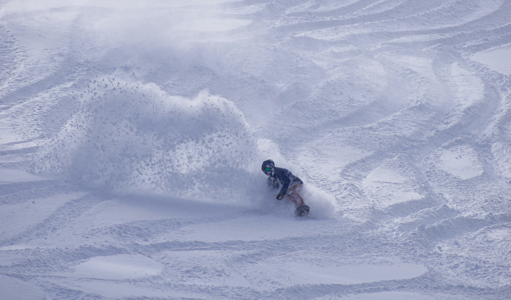 Pow Turns at Brighton