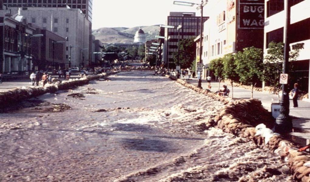 State Street Flood