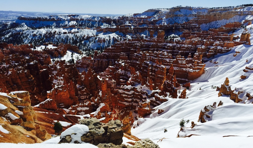 Bryce Canyon National Park Covered in Snow