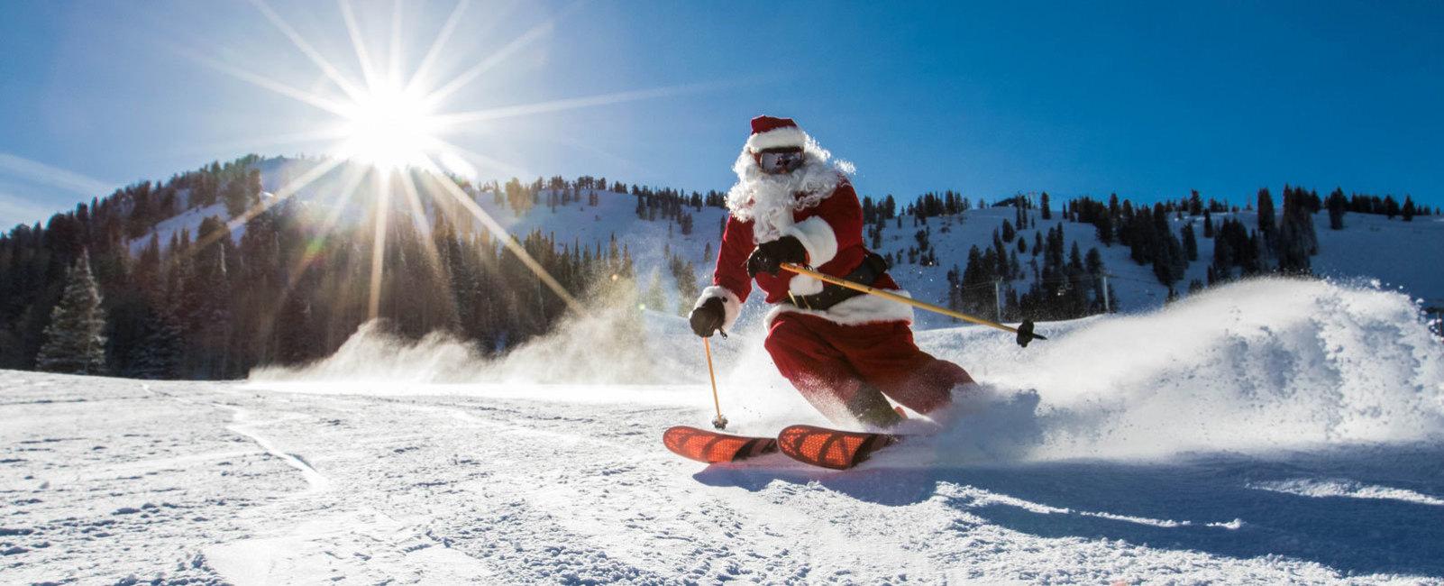Tis the Season: Santa on the Slopes