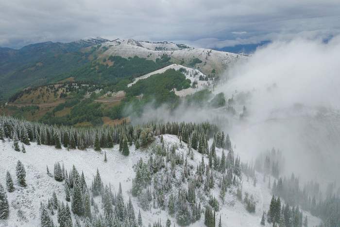 Utah's First Snow September 2019